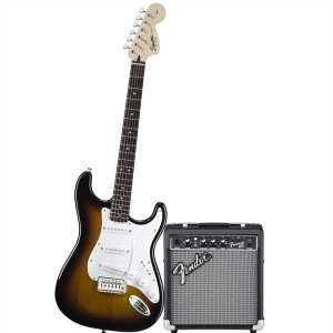 Squier affinity guitar and amp package