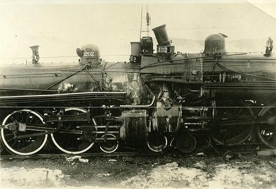 Picture of a train wreck