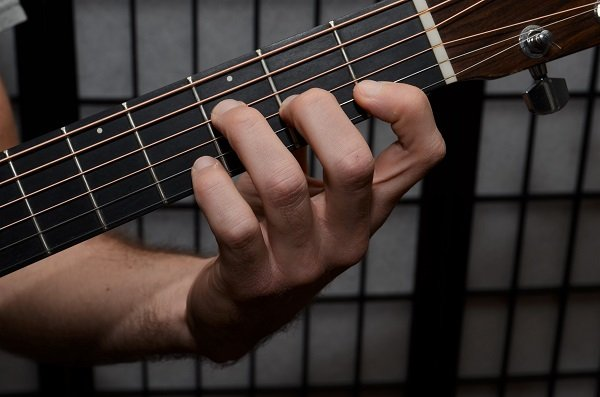 How to Position Your Hand for the F Chord - Guitar Lessons with Andy ...