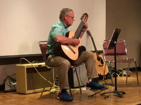 Greensboro NC guitar lessons recital